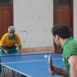 خمام - قهرمانی آموزش و پرورش در رقابتهای پینگ پنگ ادارات خمام
