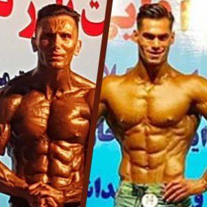 خمام - موفقیت بدنسازان خمامی در مسابقات پرورش اندام قهرمانی غرب گیلان