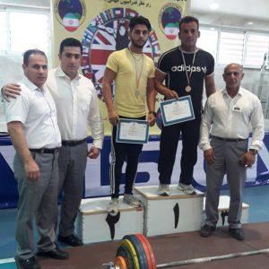 خمام - کسب ۳ مدال طلا و ۱ نقره توسط بدنسازان خمامی در رقابتهای پرسسینه و ددلیفت کشور