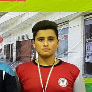 خمام - امیرمحمد خادم در مسابقات کشتی فرنگی رقابتهای خردسالان کشور به مقام سوم دست یافت