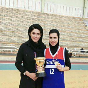 خمام - تیم امید گیلان به قهرمانی رقابتهای سطح B بسکتبال امیدهای بانوان کشور دست یافت / گیلان به سطح A صعود کرد