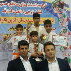 خمام - کسب ۶ مدال طلا و ۱ نقره توسط کاراتهکاهای خمامی در مسابقات سبک شوتوکان ادونس کشور