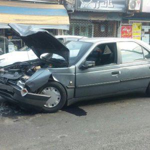خمام - تصادف خودروی پژو ۴۰۵ با خودروی پراید ۱ مصدوم بر جای گذاشت