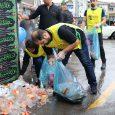 زبالههای بهجا مانده از مراسم روز عاشورا با مشارکت شهروندان جمعآوری شد