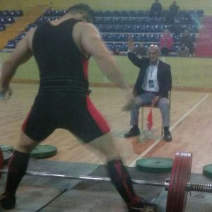 خمام - عباس کاظمی در مسابقات بینالمللی پرسسینه و پاورلیفتینگ گرجستان به قضاوت پرداخت