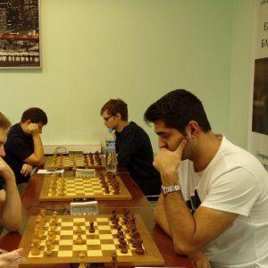 خمام - استادبزرگ امیررضا پوررمضانعلی در رقابتهای بینالمللی شطرنج سنت پترزبورگ به مقام سوم دست یافت