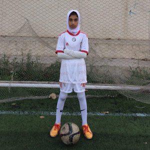 خمام - غزل رنجکش به چهارمین فستیوال ملی فوتبال پایه دختران زیر ۱۳ سال اعزام شد
