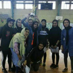 خمام - تیم سرخپوشان به مقام سوم مسابقات فوتسال بانوان اردبیل دست یافت