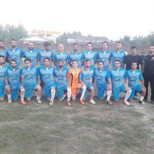 خمام - تیم شهید فانی به قهرمانی مسابقات فوتبال روستایی شهرستان رشت دست یافت