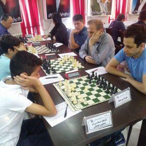 خمام - شروع خوب تیم شهرداری خمام در رقابتهای لیگ برتر شطرنج استان گیلان
