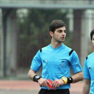 خمام - پوریا خاجانی به داوری دیدار تیمهای تراکتورسازی تبریز و ذوبآهن اصفهان میپردازد
