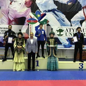 خمام - حسین صدیقیپور به نائب قهرمانی مسابقات کاراته دانشجویان حاشیهی دریای خزر دست یافت