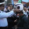دهستان چوکام یکیاز نقاط حادثهخیز گیلان با بیشترین تلفات در حوادث موتورسواران و عابران پیاده بوده / ۷۵ عدد کلاه ایمنی به موتورسواران اهدا شد