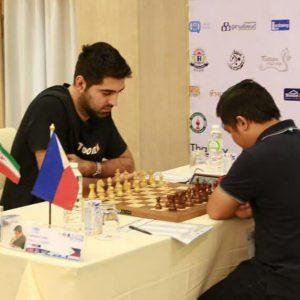 خمام - امیررضا پوررمضانعلی به قهرمانی مسابقات آزاد بینالمللی شطرنج تایلند دست یافت
