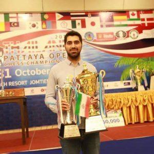 خمام - امیررضا پوررمضانعلی در بخش فکری مسابقات آزاد بینالمللی شطرنج تایلند به نایب قهرمانی دست یافت