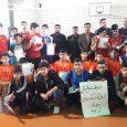 تیم امام حسین (ع) به قهرمانی مسابقات والیبال آموزشگاههای پسرانه بخش خمام دست یافت
