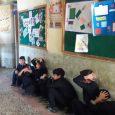 مانور زلزله و ایمنی در مدارس خمام برگزار شد