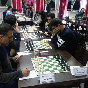 خمام - تیم شهرداری خمام ردهی دوم جدول را در هفته چهارم رقابتهای لیگ برتر شطرنج گیلان تصاحب کرد