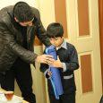 ۵ عدد صفحه و مهره شطرنج به دانشآموزان استثنایی اهدا شد