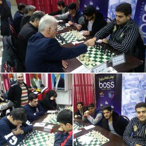 خمام - پیروزیهای شیرین ۲ تیم شهرداری خمام در لیگ برتر و لیگ دسته دو شطرنج گیلان