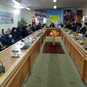 خمام - انتخابات هیات مدیره تعاونی دهیاریهای بخش خمام برگزار شد