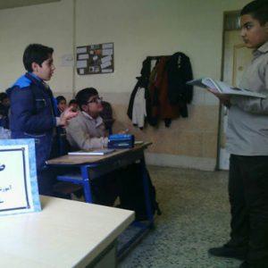 خمام - اجرای طرح مدام در دبیرستان امام حسین (ع)