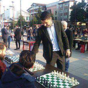 خمام - سیمولتانه پوررمضانعلی با ۴۰ شطرنجباز