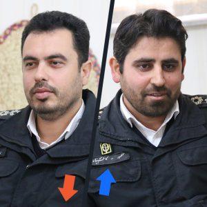 خمام - منصور کاظمپناه بهعنوان فرمانده جدید پلیس راهور خمام معارفه شد