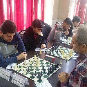 خمام - تیم جوانان شهرداری خمام مقابل هیات شطرنج سنگر به تساوی رسید