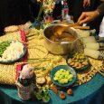 جشنواره غذاهای بومی محلی بانوان خانهدار در کتابخانه عمومی شهید بهشتی برگزار شد