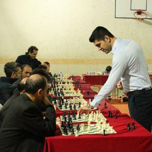 خمام - پوررمضانعلی: شطرنجبازان خمامی در سیمولتانه سطح خوبی داشتند / شطرنج خمام از فضای مناسبی برخوردار نیست