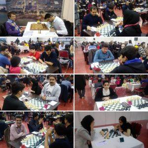 خمام - شرکت ۸ شطرنجباز خمامی در مسابقات شطرنج جام ستارگان و رقابتهای کاسپینکاپ