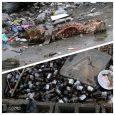 یک خیابان، دو فرعی مملو از زباله!