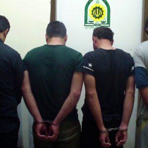 خمام - دستگیری ۴ سارق در روستای کلاچاه دوم