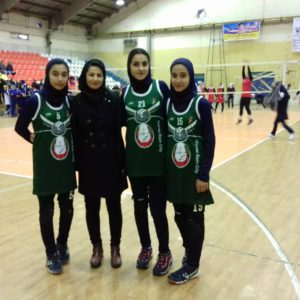 خمام - تیم وارنا جوان شهر باران به دومین پیروزی خود در رقابتهای لیگ والیبال بانوان استان گیلان دست یافت
