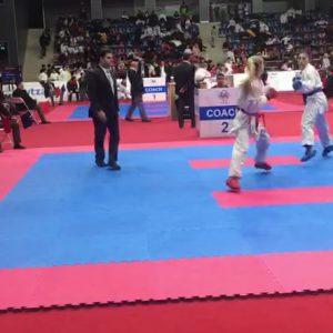 خمام - علیرضا نوروزی در رقابتهای کاراته آزاد باکو به قضاوت پرداخت