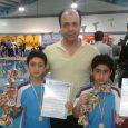 سام و پارسا زیدهسرایی به مدال طلای جشنواره شنای زیر ۱۰ سال گیلان دست یافتند