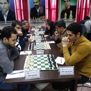 خمام - نایبقهرمانی تیم شطرنج شهرداری خمام در رقابتهای لیگ برتر گیلان