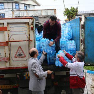 خمام - تداوم ارسال کمکهای مردمی به مناطق سیلزده