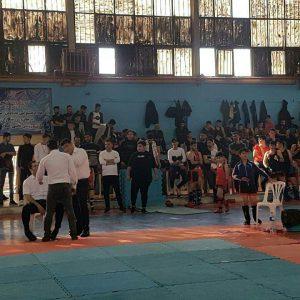 خمام - سومین دوره از رقابتهای سبک فولکیک بوکسینگ خمام برگزار شد