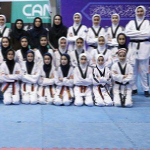 خمام - رویا یوسفیزاده به اردوی تیم ملی تکواندوی نونهالان دختر راه یافت