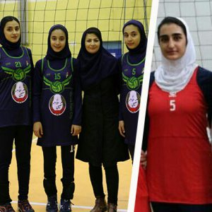 خمام - تیم وارنا جوان شهر باران به قهرمانی رقابتهای لیگ والیبال بانوان استان گیلان دست یافت