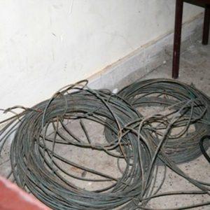 خمام - دستگیری باند سارقین سیم برق در خمام