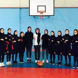 خمام - تیم بسکتبال بانوان آرنا کاظمی موفق به شکست تیم رفاه لاهیجان شد
