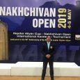 علیرضا نوروزی در رقابتهای کاراته بینالمللی کاپ آزاد نخجوان به قضاوت پرداخت