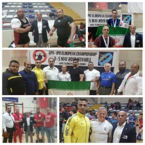 خمام - ورزشکاران خمامی در رقابتهای بینالمللی پرسسینه، ددلیفت و پاورلیفتینگ آزاد استانبول به ۲ مدال طلا و ۱ نقره دست یافتند