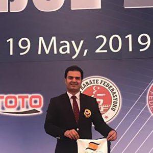 خمام - قضاوت علیرضا نوروزی در لیگ جهانی کاراته وان (سری آ) استانبول