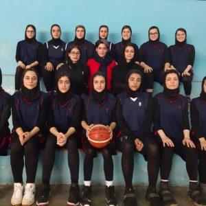 خمام - تیم بسکتبال بانوان آرنا کاظمی مقابل هایپر رشت پیروز شد