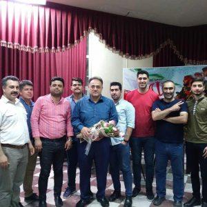 خمام - جام نکوداشت استاد رضا عابدی در رشت برگزار شد