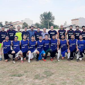 خمام - منتخب خمام ۲ بر ۱ تیم فوتبال شهید فانی را مغلوب کرد